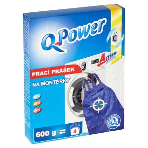 Q-Power Prací prášek na montérky 600g