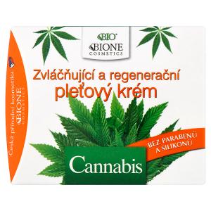 Bione Cosmetics Bio Cannabis zvláčňující a regenerační pleťový krém 51ml