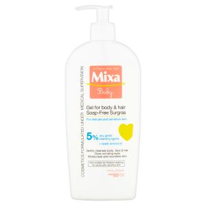 Mixa Baby Extra vyživující mycí gel na tělo a vlásky 400ml