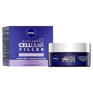 Nivea Hyaluron Cellular Filler Vyplňující noční krém 50ml