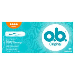 O.B. Original Tampóny Super 32 ks