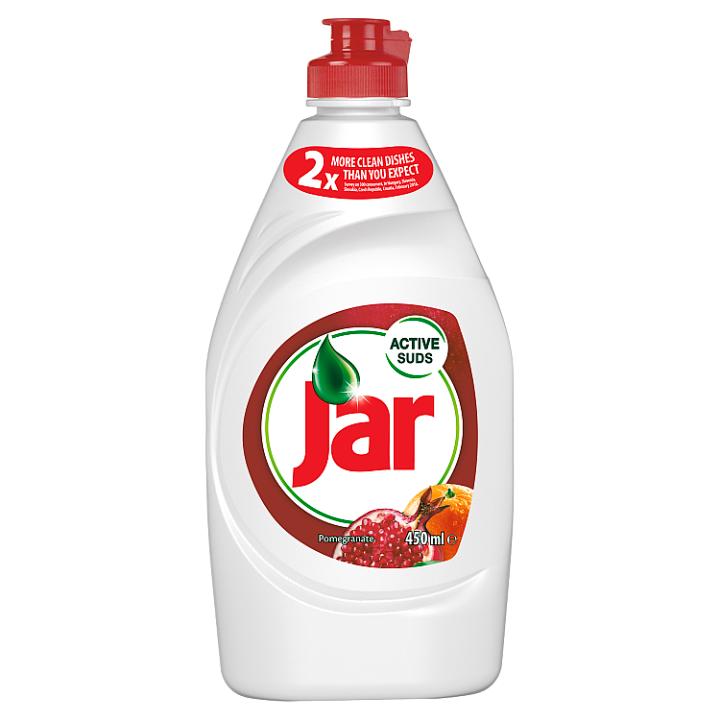 Jar Pomegranate and Red Orange Na Nádobí, Složení Pro Zářivě Čisté Nádobí 450 ml