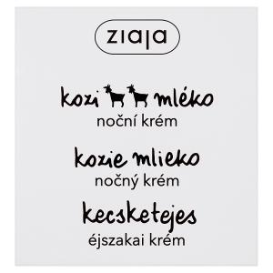 Ziaja Kozí mléko noční krém 50ml