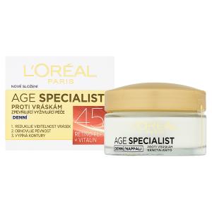 L'Oréal Paris Age Specialist 45+ zpevňující vyživující péče proti vráskám denní 50ml