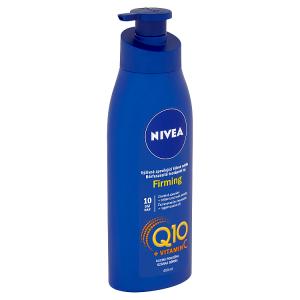 Nivea Q10 + Vitamin C Výživné zpevňující tělové mléko 400ml