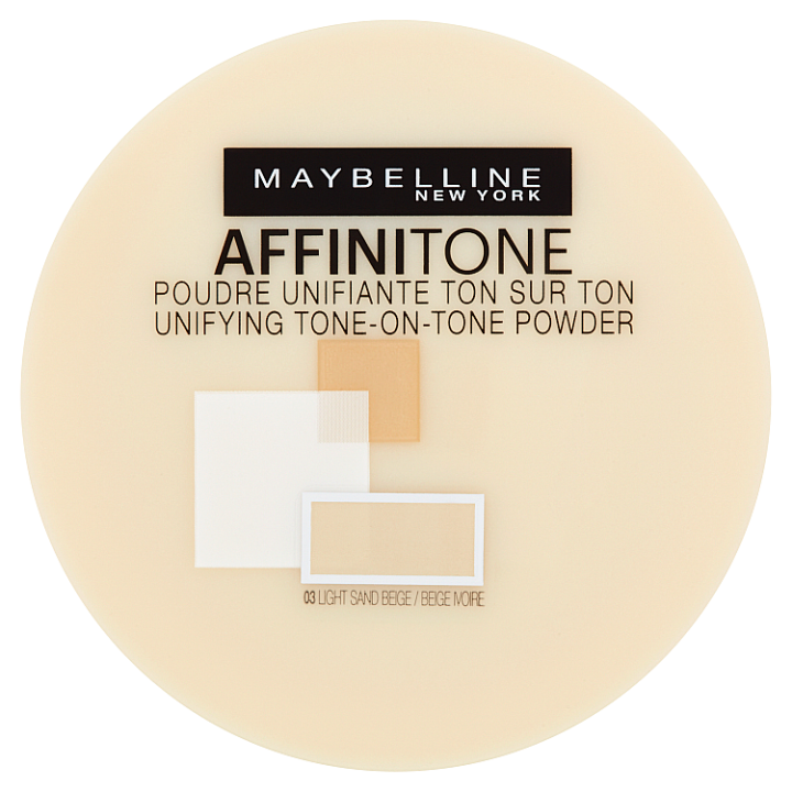 Maybelline Affinitone pudr 03 LIGHT