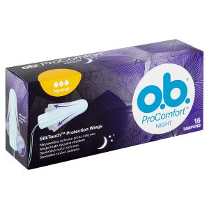 O.B. ProComfort Night Normal tampony 16 ks