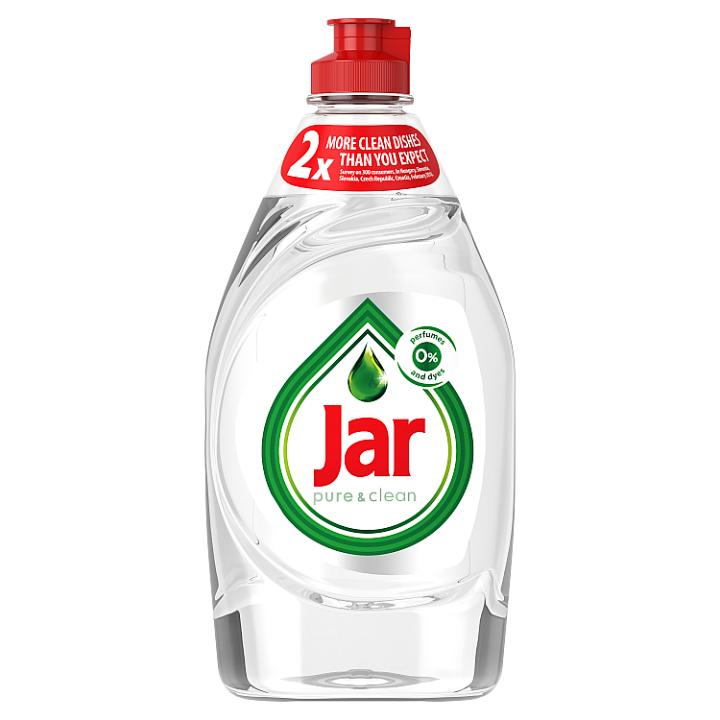 Jar Pure & Clean Prostředek Na Mytí Nádobí S 0 % Parfémů A Barviv 450 Ml