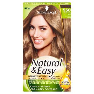 Natural & Easy Barva na vlasy tmavě plavý satén 550