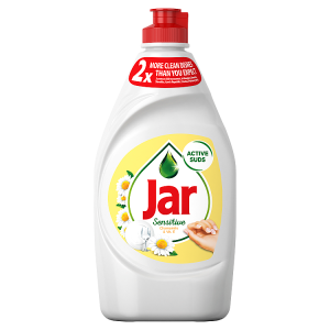 Jar Sensitive Chamomile & VitaminE Tekutý Prostředek Na Nádobí 450 ml