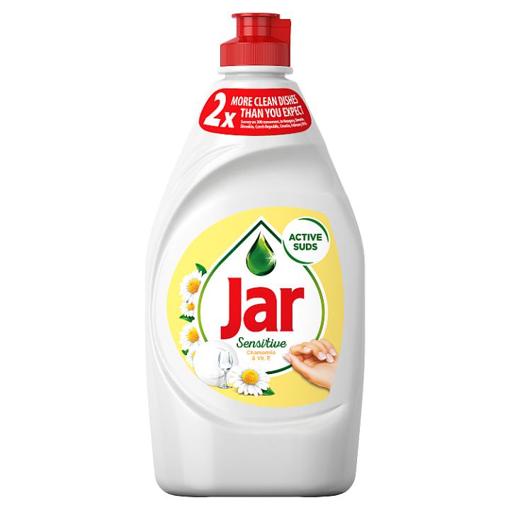 Jar Sensitive Chamomile & Vitamin E Tekutý Prostředek Na Nádobí 450 ml