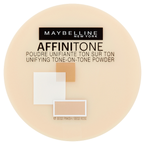 Maybelline New York Affinitone Tone-on-Tone pudr 17 Rose Beige 9g