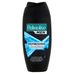 Palmolive Men Refreshing tělový šampon 2v1 s mořskými minerály a eukalyptovým olejem 250ml