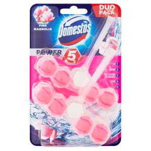 Domestos Power 5 Pink Magnolia WC blok 2 x 55g