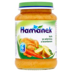Hamánek Kuře se zeleninou a bramborem 190g
