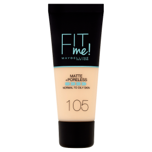 Maybelline New York Fit Me! Matte and Poreless 105 make-up 30ml