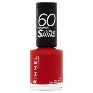 Rimmel London 60 Seconds Super Shine 310 double decker red 8ml