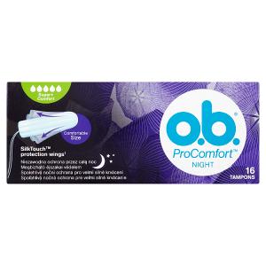 O.B. ProComfort Night Super+ Comfort tampony 16 ks