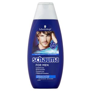 Schauma šampon pro muže s chmelovým extraktem 400ml
