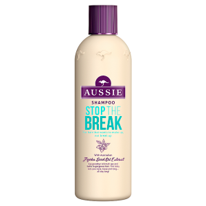 Aussie Stop The Break Šampon Pro Vlasy Poškozené Teplem 300ml