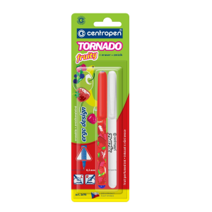 Centropen Roller Tornado fruity 2675 + zmizík mix barev
