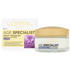 L'Oréal Paris Age Specialist 55+ obnovující krém proti vráskám noční 50ml