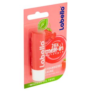 Labello Strawberry Shine Pečující balzám na rty 4,8g