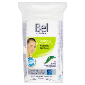 Bel Premium Tampóny + mikrovlákno aloe vera a panthenol 45 ks