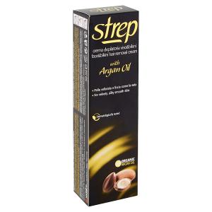 Strep Depilační krém pro depilaci tváře a oblasti bikin s arganovým olejem 50ml