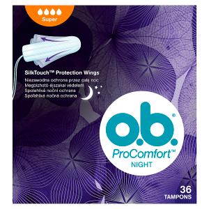 O.B. ProComfort Night Super tampony 36 ks