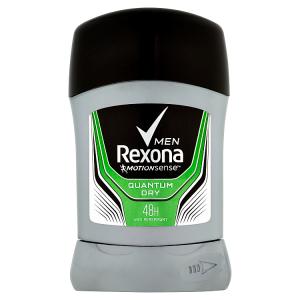 Rexona Men Quantum Dry tuhý antiperspirant pro muže 50ml