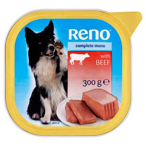 Reno Kompetní krmivo pro dospělé psy s hovězím 300g
