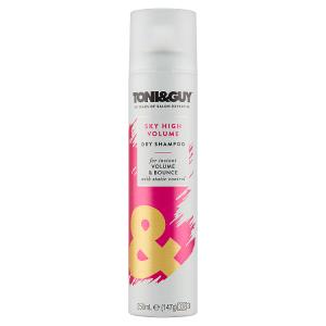 Toni&Guy Sky High Volumising Suchý šampon pro objem 250ml
