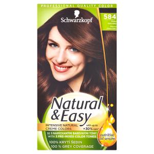 Schwarzkopf Natural & Easy barva na vlasy Moka Čokoláda 584