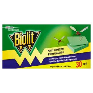 Biolit Polštářky do elektrického odpařovače proti komárům 30 ks