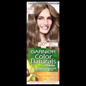 Garnier Color Naturals permanentní barva na vlasy 7.00 blond, 60+40+12ml