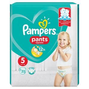 Pampers Pants Vel. 5, 22 Plenkových Kalhotek