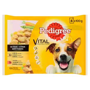 Pedigree Vital Protection 100% kompletní výživa ve šťávě 4 x 100g