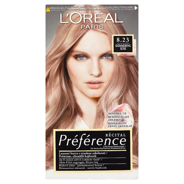 L'Oréal Paris Récital Préférence Shimmering Rose 8.23