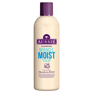 Aussie Miracle Moist Šampon Pro Suché, Žíznivé Vlasy 300ml