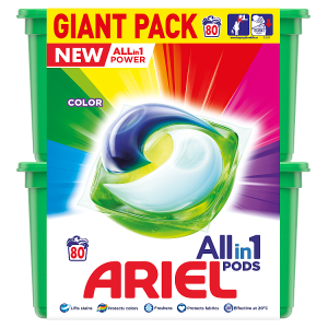 Ariel Allin1 Pods Color Kapsle Na Praní 80 Praní
