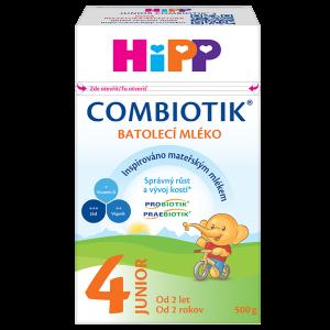 Batolecí mléko HiPP 4 Junior Combiotik  500 g
