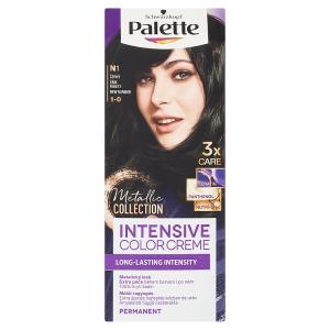 Schwarzkopf Palette Intensive Color Creme barva na vlasy Černý N1