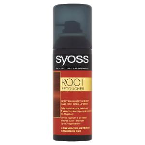 Syoss Root Retoucher Korektor odrostlých vlasů kašmírově červený 120ml
