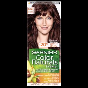 Garnier Color Naturals permanentní barva na vlasy 5.52 kaštanová,  60+40+12ml