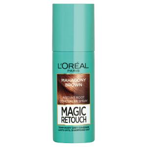 L'Oréal Paris Magic Retouch Sprej pro okamžité zakrytí odrostů mahagonová 75ml