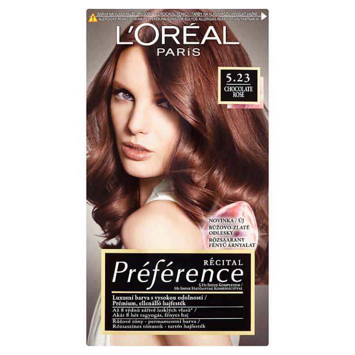 L'Oréal Paris Récital Préférence Chocolate Rose 5.23