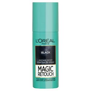 L'Oréal Paris Magic Retouch Sprej pro okamžité zakrytí odrostů černá 75ml