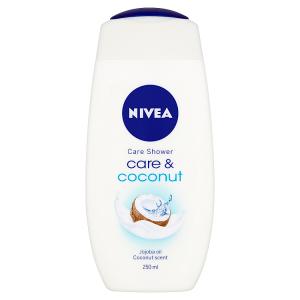 Nivea Care & Coconut Pečující sprchový gel 250ml