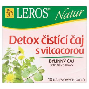 Leros Natur Detox čistící čaj s vilcacorou bylinný čaj 10 x 1,5g